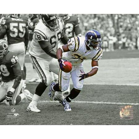 LaDainian Tomlinson First NFL Touchdown 2001 Spotlight Action Photo Print