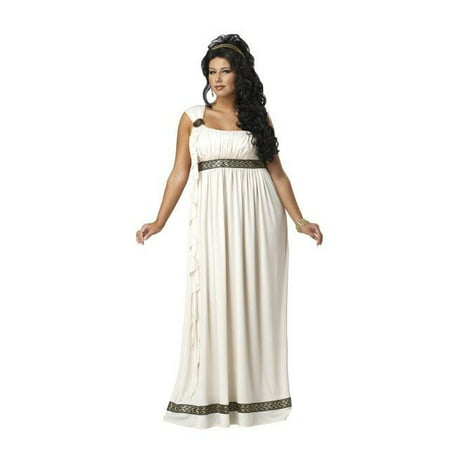 Plus Size Womens Olympic Goddess Costume](Plus Size Clown Costume Women)
