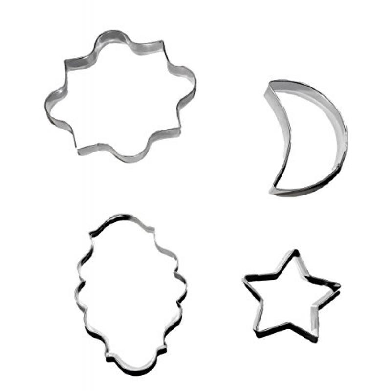 Eid and Ramadan Muslim Holiday Cookie Cutter Set (Set of 4)