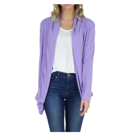 - PajamaMania Women's Sleepwear Lightweight Knit Long Sleeve Open Front Slouch Cardigan Wrap