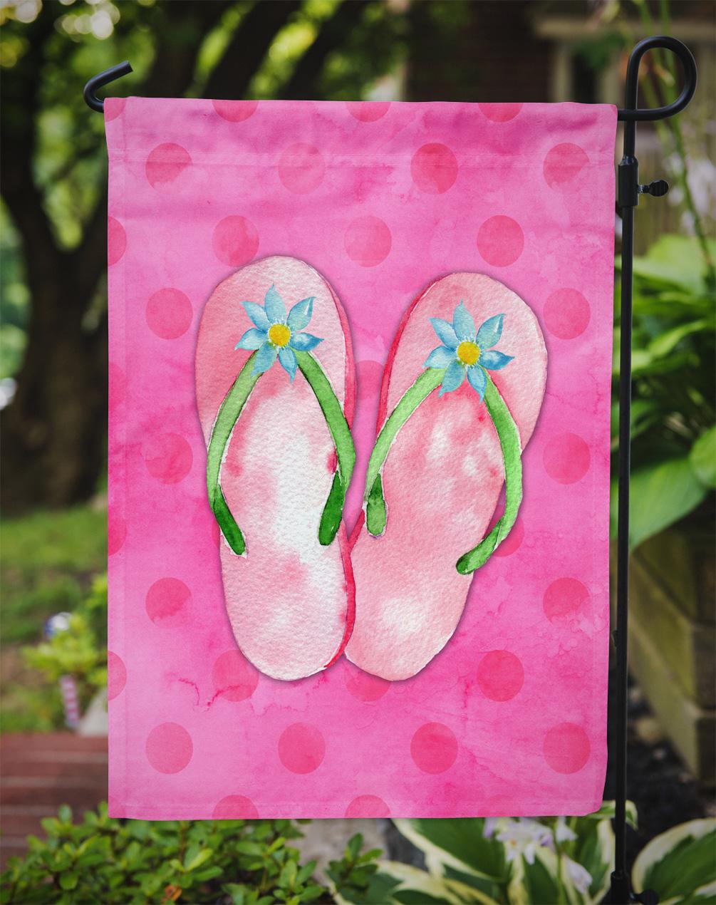 Pink Flip Flops Pink Polkadot Garden Flag - Walmart.com