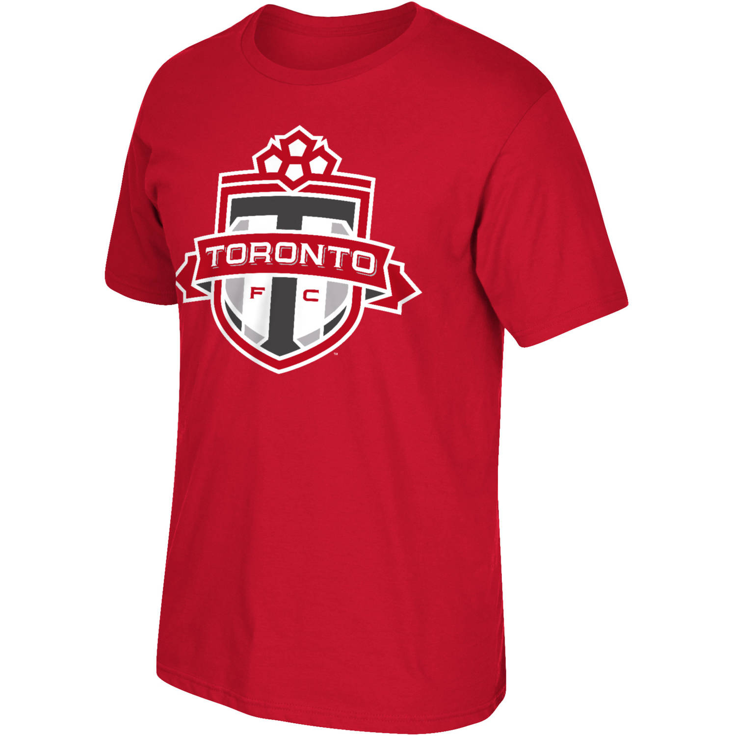 MLS Toronto FC Mens Oversized Logo Short Sleeve Tee