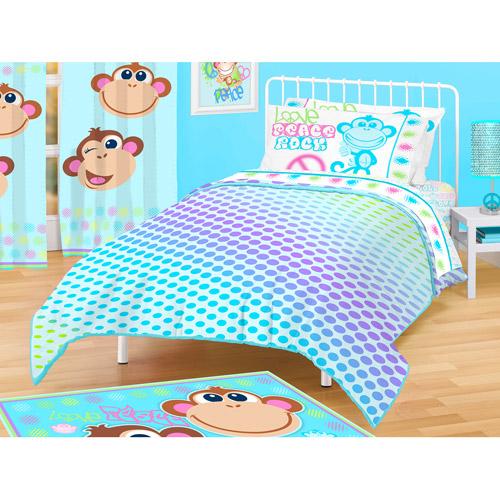 American Kids Monkey Blanket