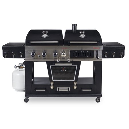 Pit Boss Memphis Ultimate 4 In 1 Gas Charcoal Combo Grill With Smoker