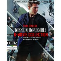 Mission: Impossible 6 Movie Collection (4K Ultra HD + Blu-ray)