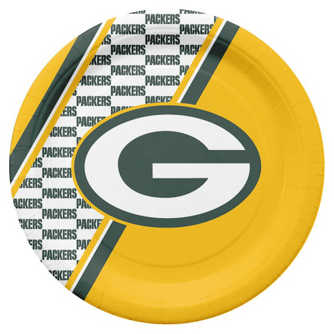 Green Bay Packers Disposable Paper Plates  sc 1 st  Walmart.com & Green Bay Packers Disposable Paper Plates - Walmart.com