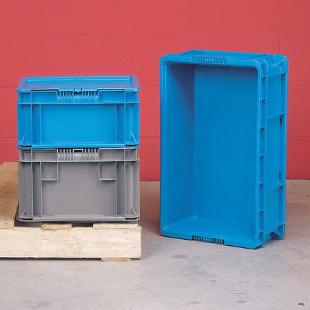 """40 lb. 15/""""W 48 /""""L ORBIS SO4815-11 Blue Wall Container"""