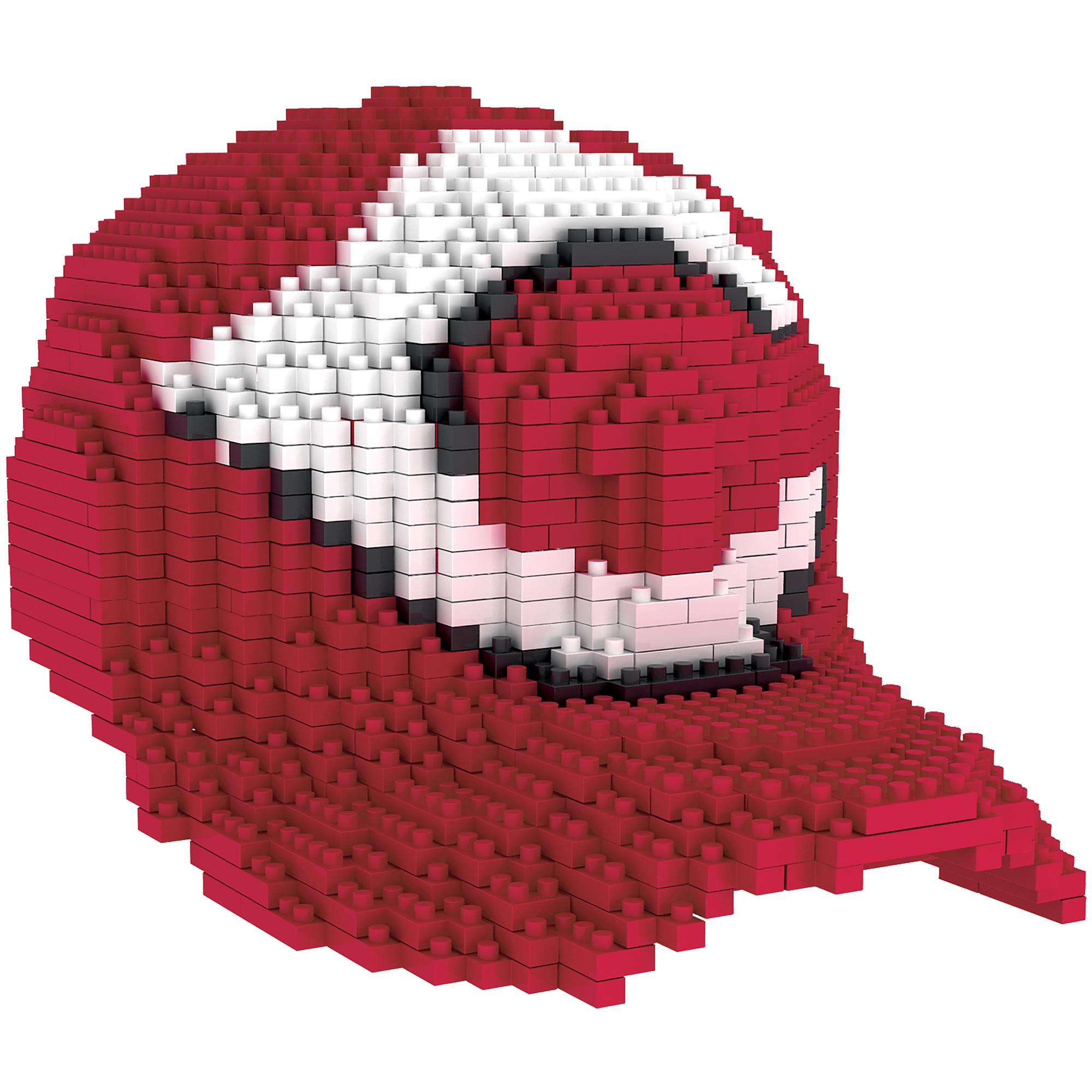 Cincinnati Reds Baseball Cap BRXLZ Puzzle - No Size