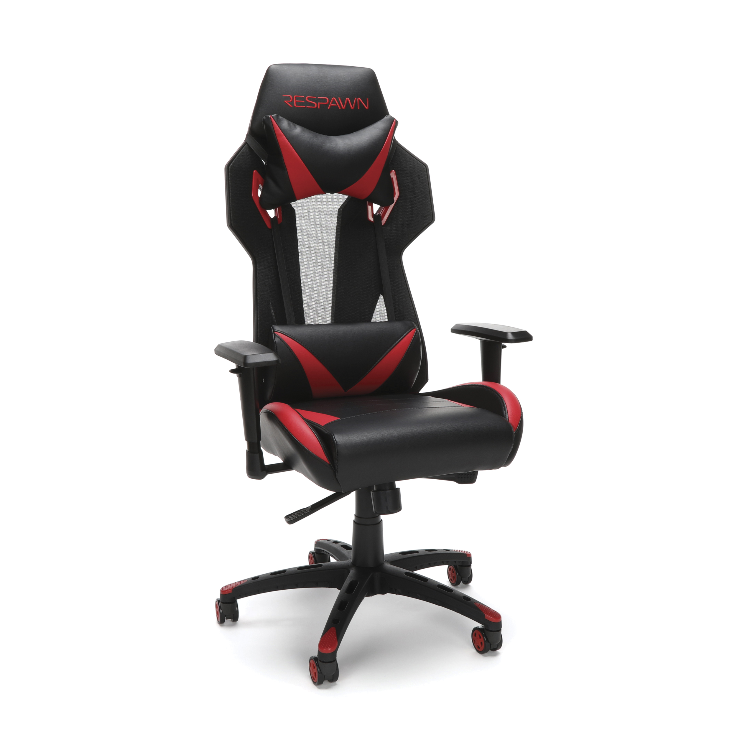 RESPAWN-205 Racing Style Gaming Chair - Ergonomic Performance Mesh Back Chair, Office or Gaming Chair, Red (RSP-205)