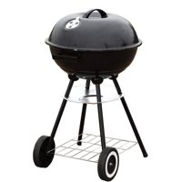 "Portable 18"" Charcoal Grill Outdoor Original BBQ Grill Backyard Cooking Stainless Steel 18 diameter cooking space cook steaks, burgers, Backyard & Tailgate"
