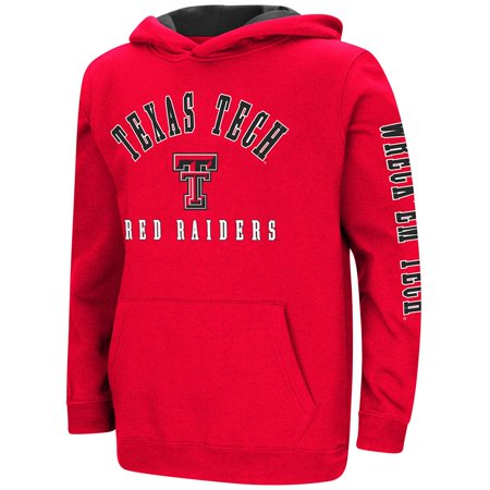 Youth Texas Tech Red Raiders Pull-over Hoodie - S - Texas Tech 2017 Halloween