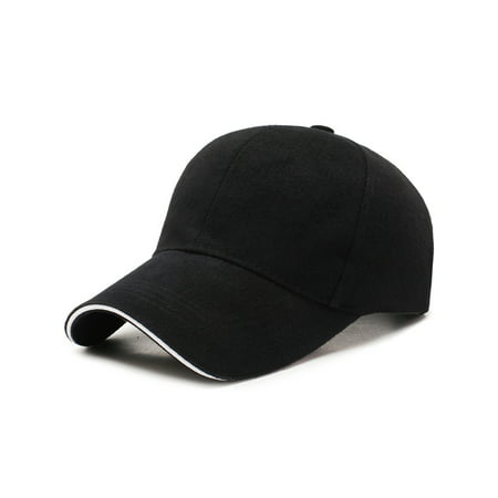 Men Baseball Cap Adjustable Strapback Snapback Trucker Hat (Large Size Mens Hats)