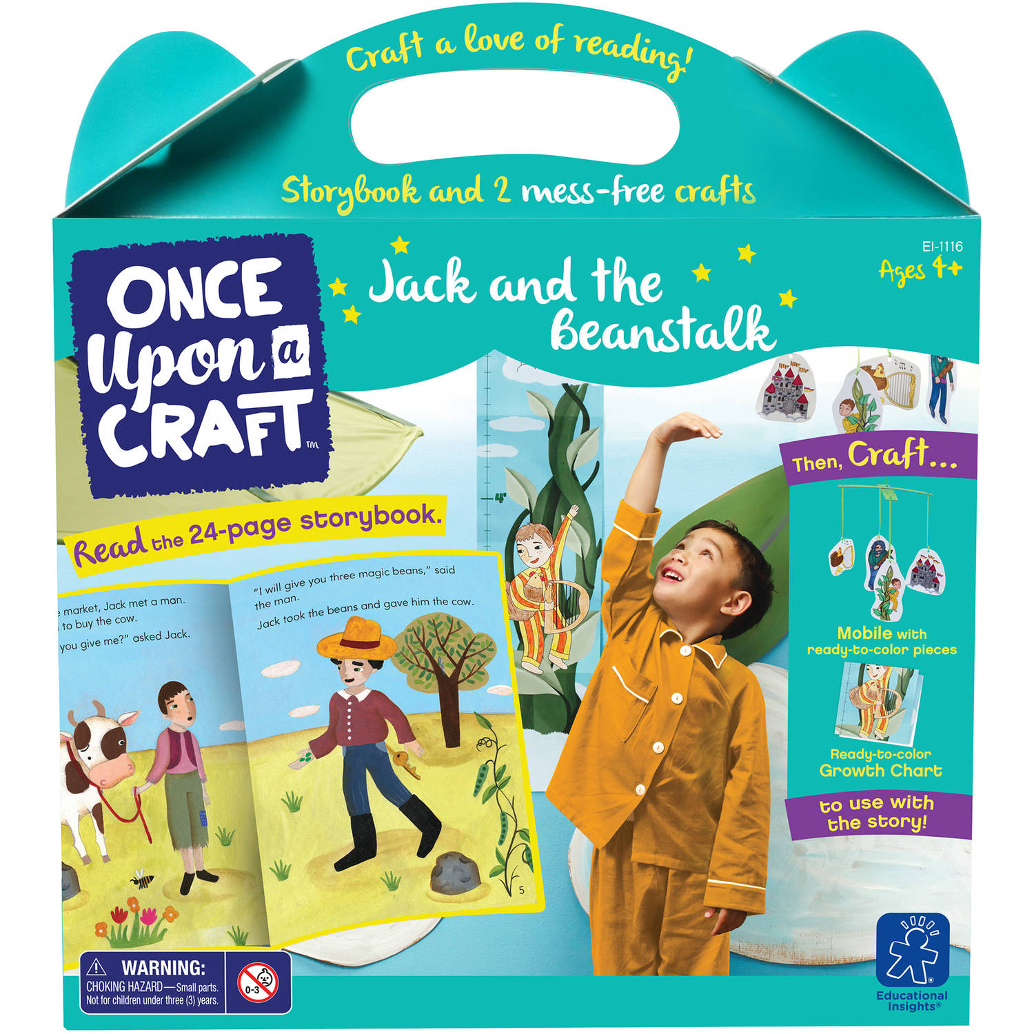 Educational Insights Once Upon a Craft, Jack and the Beanstalk
