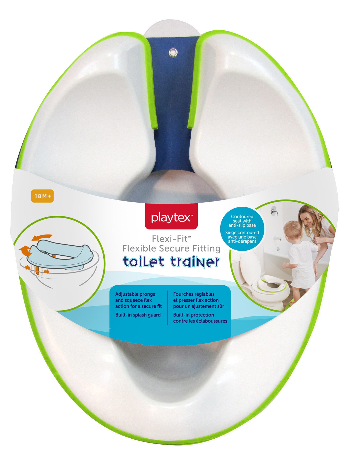 Flexi-Fit Toilet Trainer by Playtex