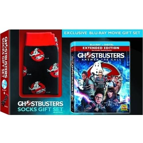 Ghostbusters (2016) (Blu-ray + Digital HD + Includes Exclusive Socks) (Widescreen)