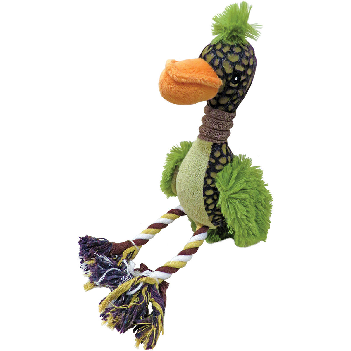 """Plush Fuzz Bird Dog Toy 12""""- """
