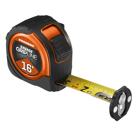 16' Magnetic Savage Grip Line Tape Measure
