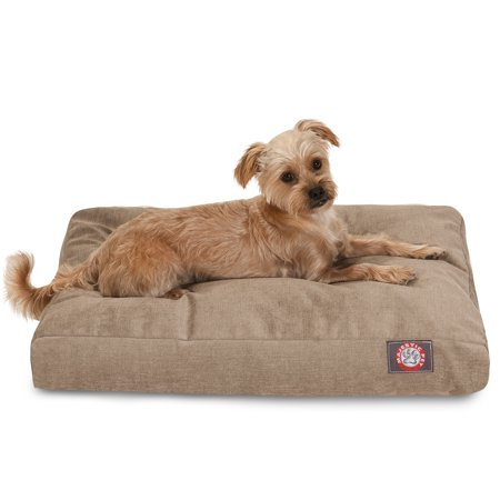Majestic Pet® Villa Collection Rectangle Dog Bed - Pearl Tan - Large
