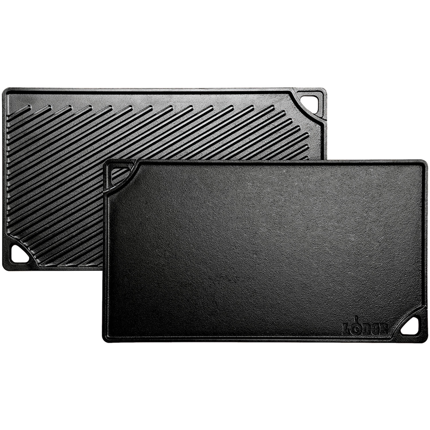 Lodge Logic Double Play Cast Iron Reversible Griddle