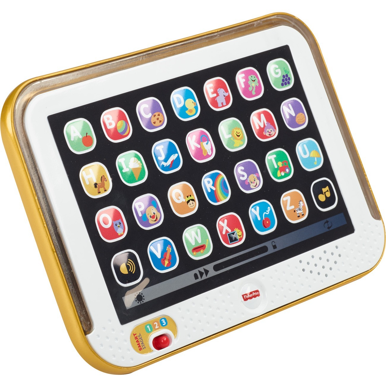 Fisher Price Laugh N Learn Smart Stages Tablet Gold