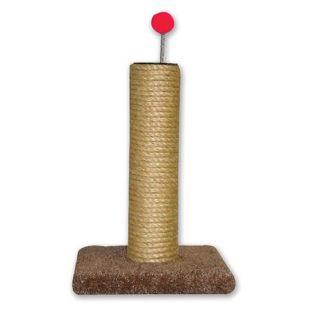 Beatrise Round Sisal Rope Cat Scratching Post ()