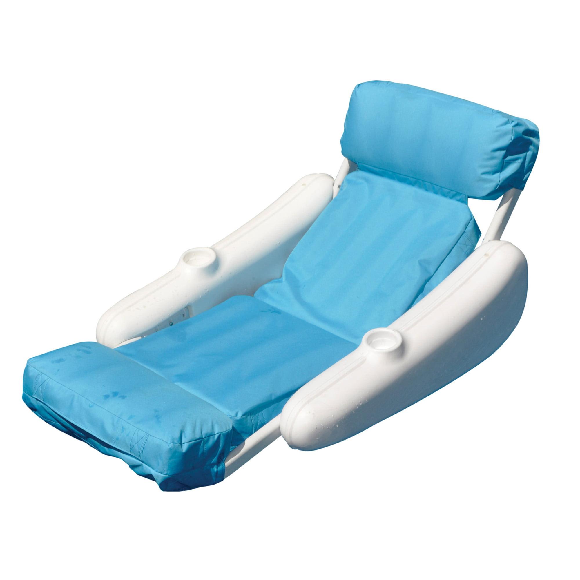 Swimline SunChaser Luxury Floating Pool Lounger Walmart