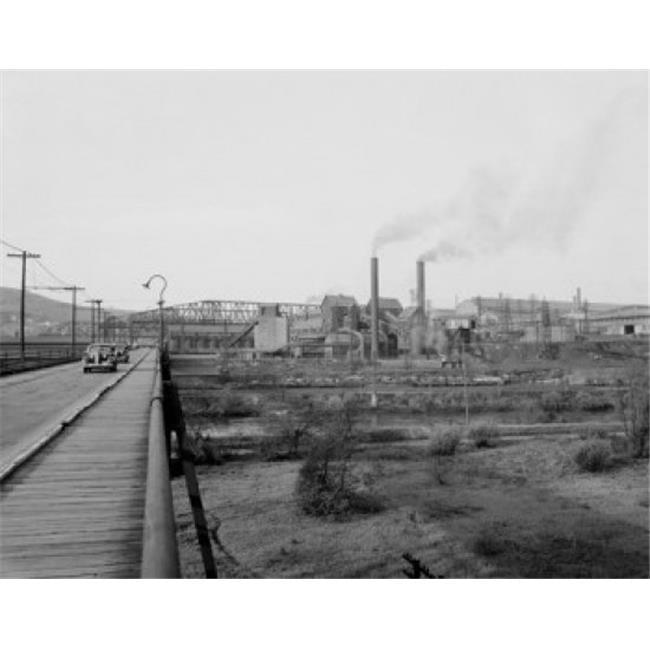Posterazzi SAL255424678 USA Pennsylvania Betlehem Steel Plant Poster Print - 18 x 24 in. - image 1 de 1