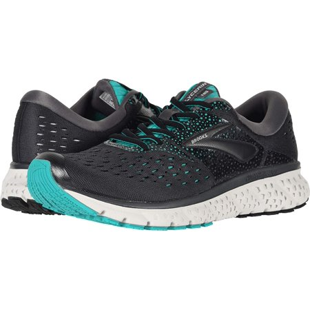 a5f98b7b56a31 Brooks - Brooks Women s Glycerin 16 Ebony Green Black 7 B US - Walmart.com