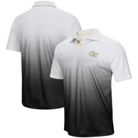 GA Tech Yellow Jackets Colosseum Magic Team Logo Polo - Gray