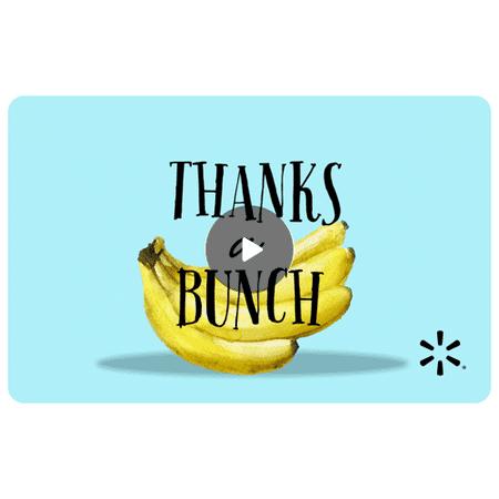 Banana Bunch Walmart eGift Card