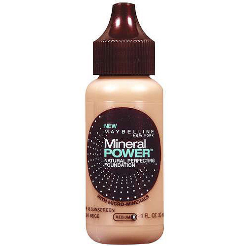 Maybelline Mineral Powder Natural Perfecting Foundation, 1 fl oz