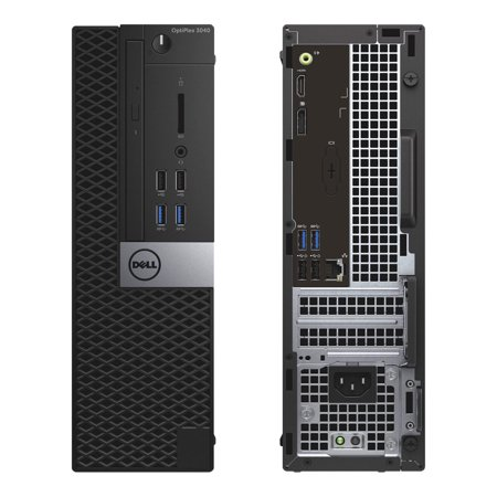 Dell OptiPlex 3040, Small Form Factor, Intel Core i5-6500 up to 3.60 GHz, 12GB DDR3, NEW 240GB SSD, DVD-RW, Microsoft Windows 10 Pro 64-bit - image 2 de 2