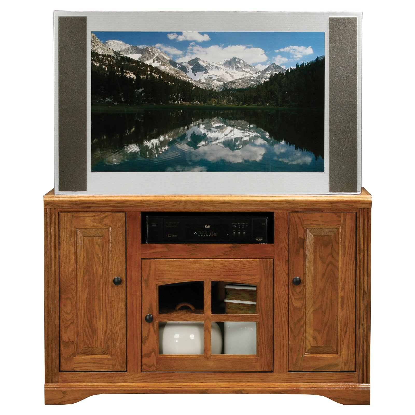 Eagle Furniture Oak Ridge Customizable 45 in. Corner Entertainment Console