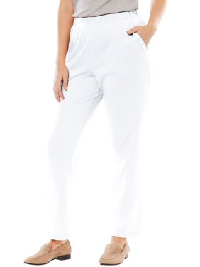 0c2ba80df605e Product Image Woman Within Plus Size 7-day Knit Straight Leg Pant