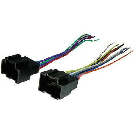 SCOSCHE GM18B - 2007-up Chevy Aveo Wire Harness / Connector for Car Radio / Stereo (Dual Wire Harness)
