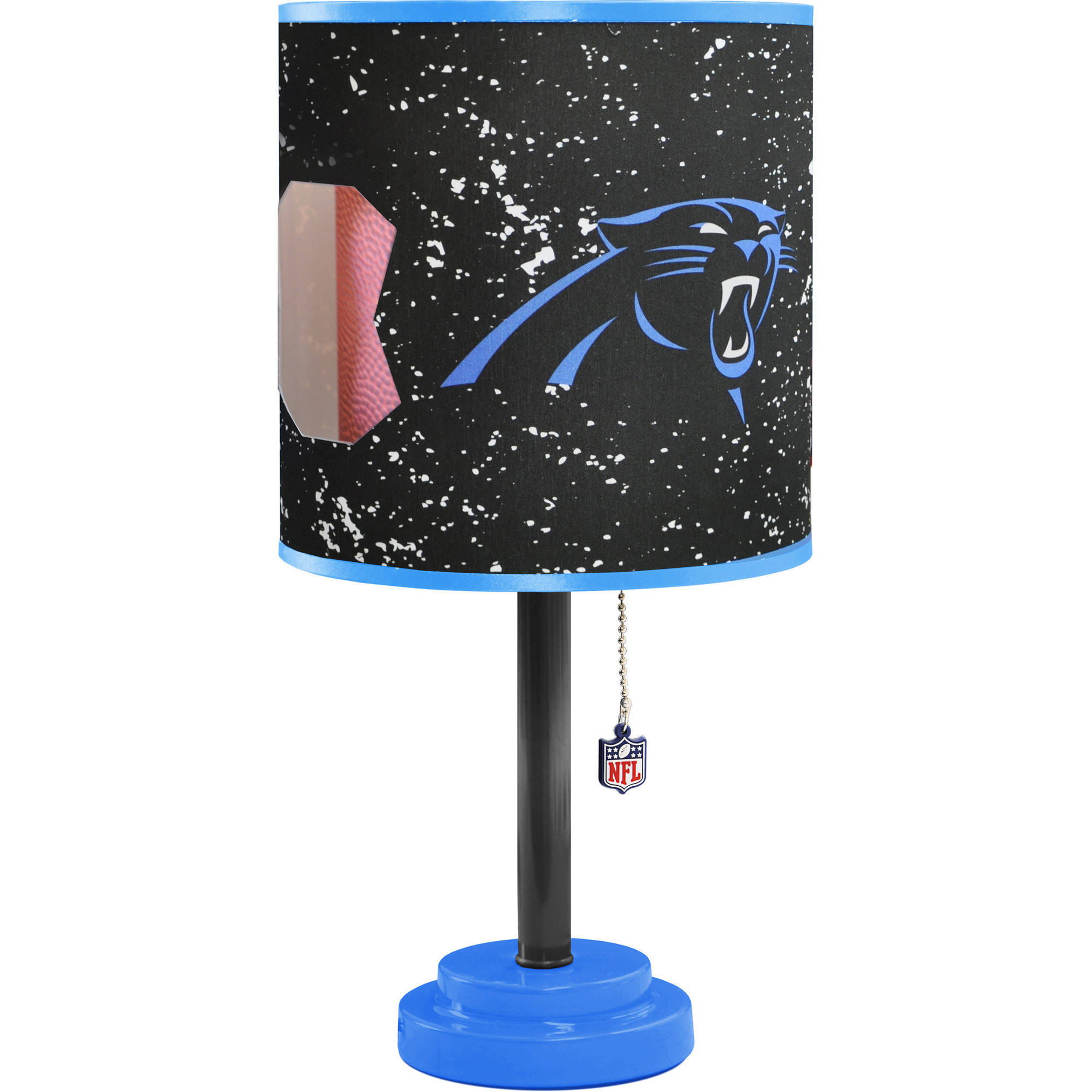 Carolina Panthers Die-Cut Table Lamp