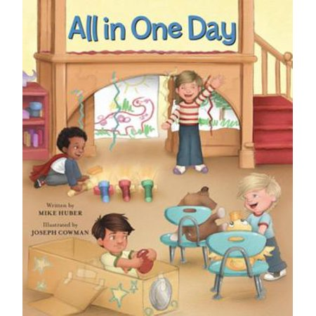 All in One Day - eBook This engaging childrens book follows loveable characters experiences during an ordinary day in a preschool classroom. The story showcases the routine of the day in one group-care setting.It includes a page with information to help parents, caregivers, and educators connect the story to childrens experiences.This story takes place in a group-care setting, which is a unique feature among childrens books. It also reflects the same developmentally appropriate practices and research-based standards that all Redleaf Press books are known for.This hardcover book is fun to read and beautifully illustratedsure to become an early childhood favorite.This high-quality picture book is price competitively with others on the market.