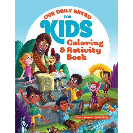 Our Daily Bread for Kids Coloring and Activity