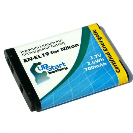 Nikon Coolpix S4100 Battery - Replacement for Nikon EN-EL19 Digital Camera Battery (700mAh, 3.7V, Lithium-Ion) (Nikon Digital Camera Battery)