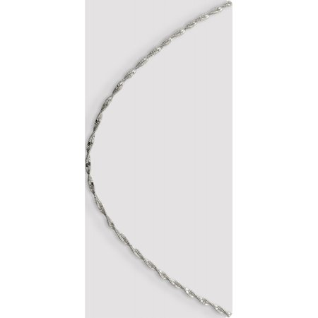 925 Sterling Silver 2mm Twisted Herringbone Chain - image 5 of 5