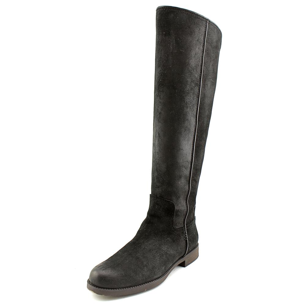 Franco Sarto Chandra Wide Calf Round Toe Leather Knee High Boot by Franco Sarto