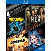 4 Film Favorites: Comics Collection Watchmen   Jonah Hex   The Losers   A History Of Violence (Blu-ray) (Widescreen) by WARNER HOME VIDEO