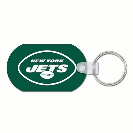 Key Jet - New York Jets WinCraft Premium Metal Key Ring - No Size
