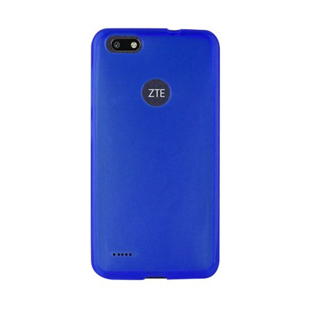ZTE Blade Force/Blade X Case, by Insten Frosted TPU Transparent Ultra Slim Fit Rubber Skin Case Cover For ZTE Blade Force/Blade X (Shock Absorption)(Fingerprint-proof)(Scratch-resistant)