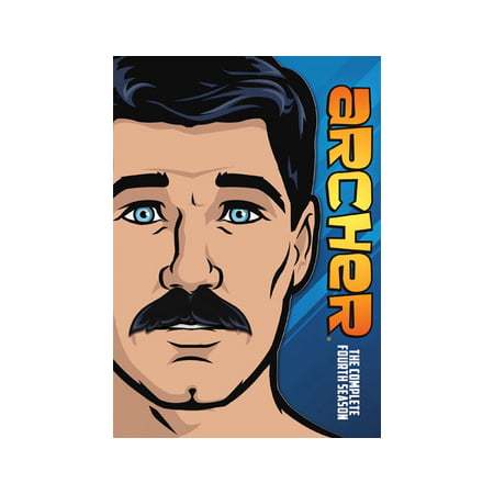 Archer: The Complete Fourth Season (DVD) (Archer Tv Series Dvd)