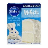 (2 pack) Pillsbury Moist Supreme White Premium Cake Mix, 15.25 oz