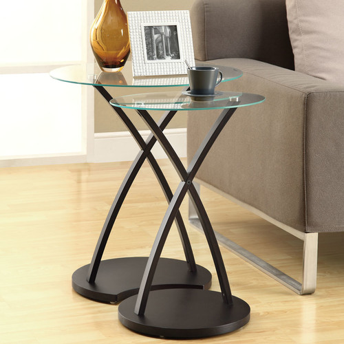 Monarch Nesting Table 2Pcs Set / Cappuccino Bentwood