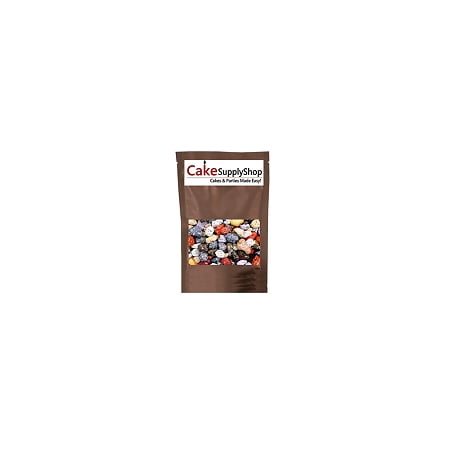 Edible Beach Sea Side Rocks For Cake Decoration and Candy Buffets ( 8oz Chocolate River Rocks) - Halloween Cakes Decorations