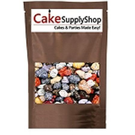 Edible Beach Sea Side Rocks For Cake Decoration and Candy Buffets ( 8oz Chocolate River Rocks)](Chocolate Rocks)