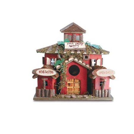 Zingz & Thingz 57070138 Finch Valley Winery Birdhouse - image 1 of 1